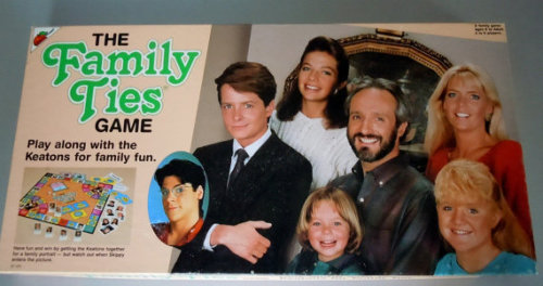 The Family Ties Board Game Source: Etsy