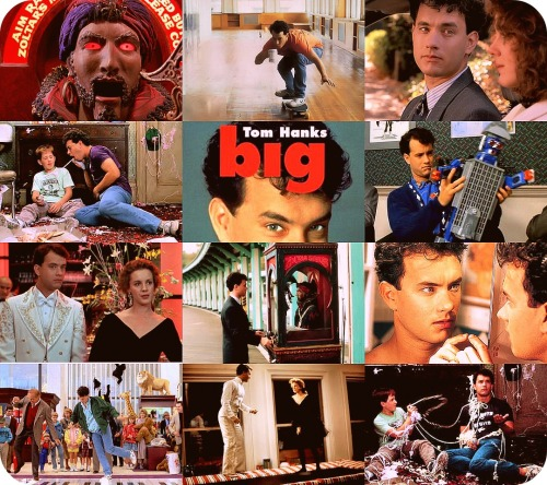 12. Big (1988) The space goes down, down baby, down, down the roller coaster. Sweet, sweet baby, sweet, sweet, don't let me go. Shimmy, shimmy, cocoa pop. Shimmy, shimmy, rock. Shimmy, shimmy, cocoa pop. Shimmy, shimmy, rock. I met a girlfriend - a triscuit. She said, a triscuit - a biscuit. Ice cream, soda pop, vanilla on the top. Ooh, Shelly's out, walking down the street, ten times a week. I read it. I said it. I stole my momma's credit. I'm cool. I'm hot. Sock me in the stomach three more times.