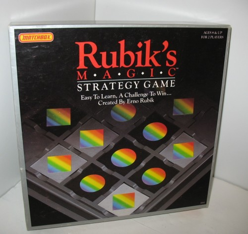 Rubik's Magic Strategy Game Source: Etsy