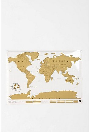 (via UrbanOutfitters.com > Scratch Off World Map)