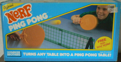 Nerf Ping Pong Source: Etsy