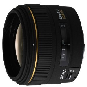 (via Amazon.com: Sigma 30mm f/1.4 EX DC HSM Lens for Canon Digital SLR Cameras: Camera & Photo) For CANON cameras ;o)