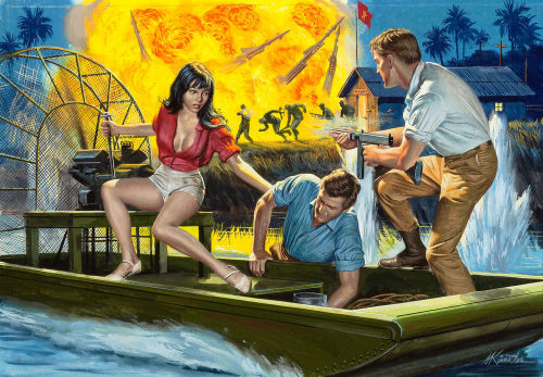 By Mort Künstler. [Pulp Covers]