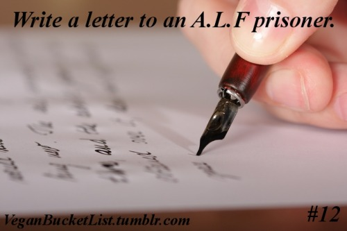 Link to current A.L.F. prisoners