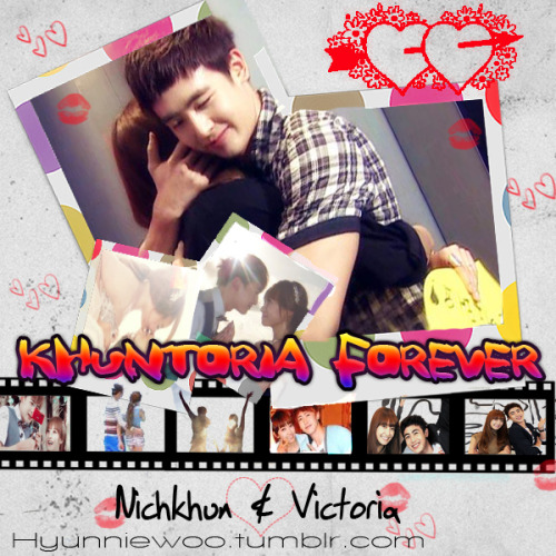 [Fanart] Khuntoira forever~ Just in case you guys forgot, today is Khuntoira's 1 year and 6 months, so I  will have a mini Khuntoria spam today ^^ K hyunniewoo: