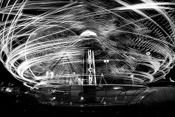 black-and-white:  Spinning at The Ex (by Mute*)