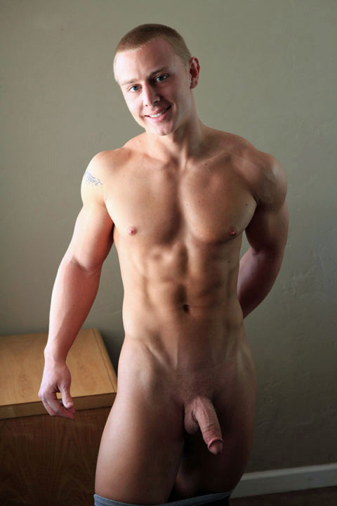 Cute, smooth #Muscle_Twink. #Cock #Flaccid or #Tumescent or #Turgid? Half-Mast.     ||  #HunkFinder  ||