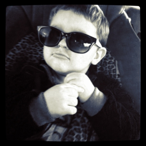 My nephew -xoxo! He's one of a kind :)