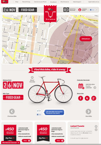 Virgin free ride - http://fairride.com.au/
