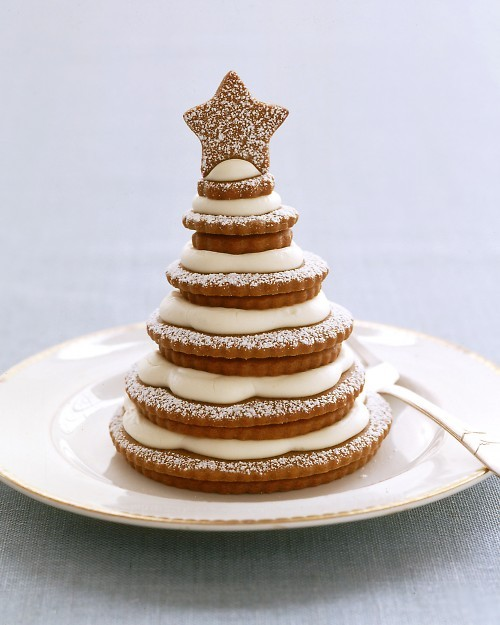 thecakebar:  Gingerbread Christmas Cookie Tree! (recipe)