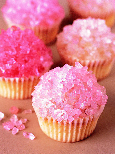 thecakebar:  Rock Candy Cupcakes! (recipe)