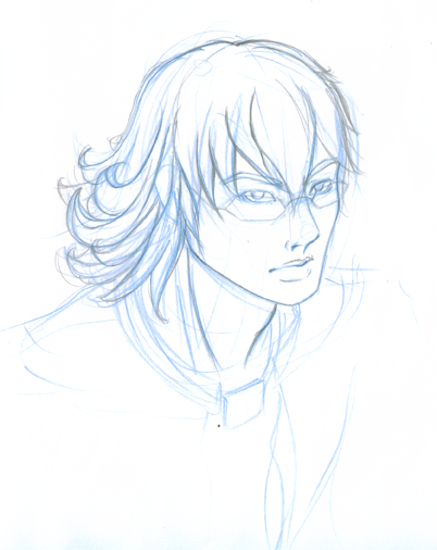 sometimes i forget i can draw. Old barnaby sketch i didn't finish.