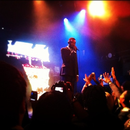 Frank Ocean what up. (Taken with Instagram at Bowery Ballroom)