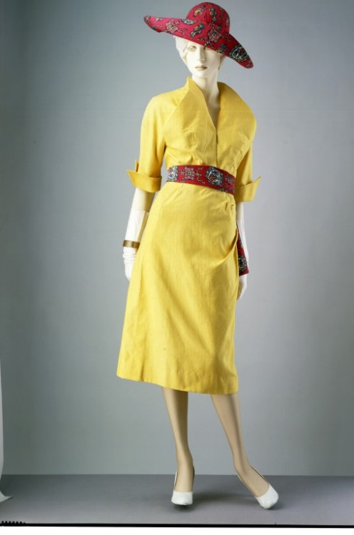 Ensemble Jacques Fath, 1949 The Victoria & Albert Museum