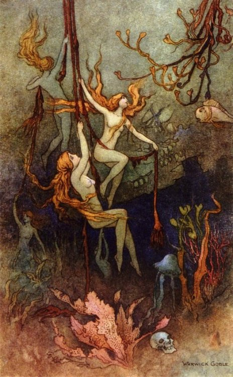 Warwick Goble, Sea Nymphs