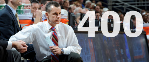 Happy 400th win to Billy Donovan!