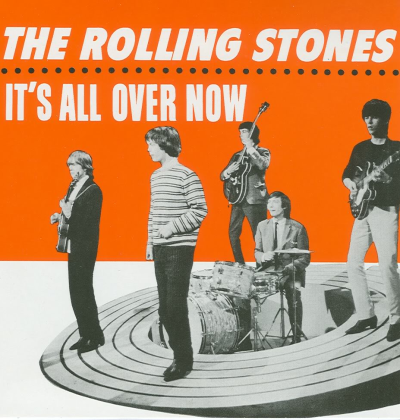 the mid-60s members of the rolling stones went on album covers with the facial expressions they had, not the facial expressions they might want.