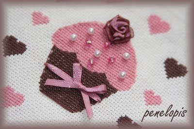 free cupcake cross stitch designs