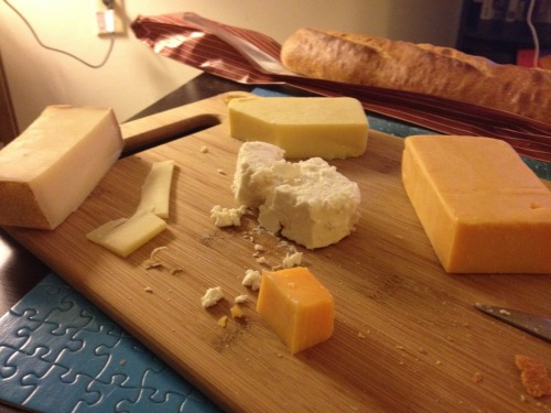 EAT. Bread and Cheese Comte  White Cheddar  Cheddar  Feta