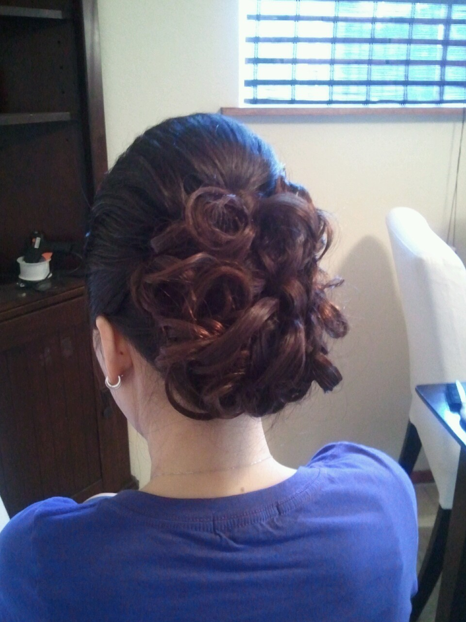 Candance and Budyante wedding Hair by Christine San Antonio Makeup by Nhi Vuong October 15, 2011