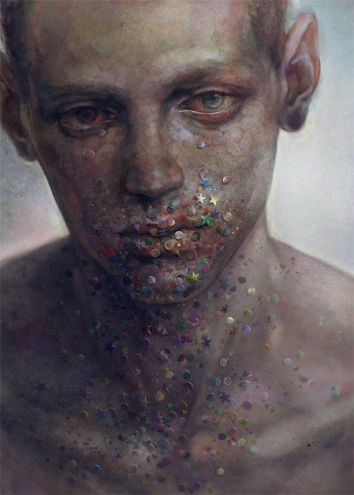 theastonishingpost:  Paintings by YDK Morimoe