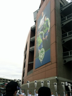 Two of my favs. Sounders FC and UW Sports.