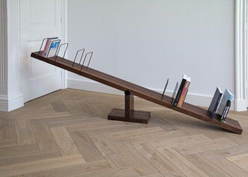 micasaessucasa:  See-Saw Bookshelf by BCXSY