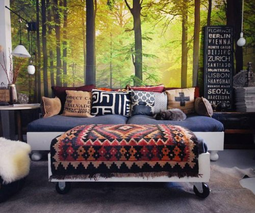 micasaessucasa:  Autumn Forest Wall Mural
