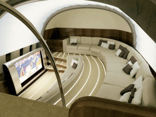 micasaessucasa:  Boeing 787 Dreamliner Screen Theatre by BMW Group
