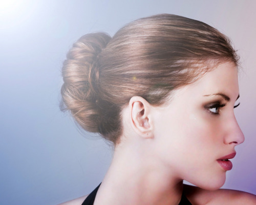 Check out our easy how-to for mastering the sock bun!