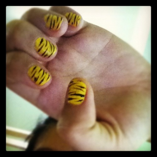 In love with my Nails! instagram)
