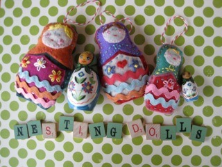 DIY: Nesting Doll Ornament | Handmade Success | Marketing   Social Media Training for Creative Entrepreneurs