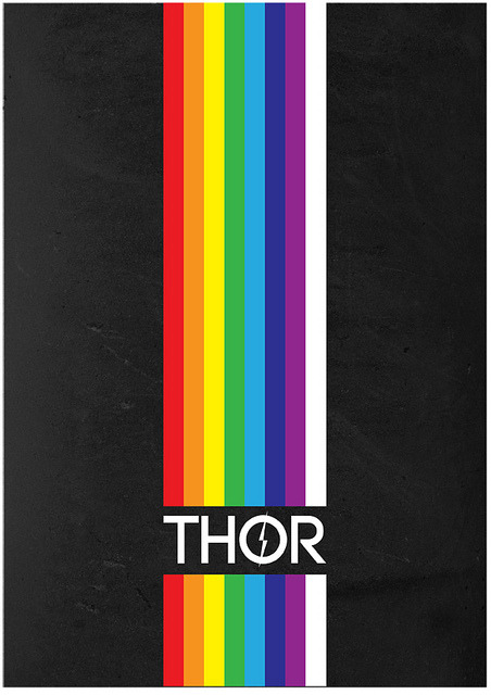 Thor by Tony Hardy loki-trickstergodofmischief's request