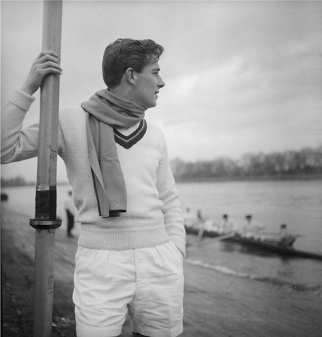 Rowing attire.