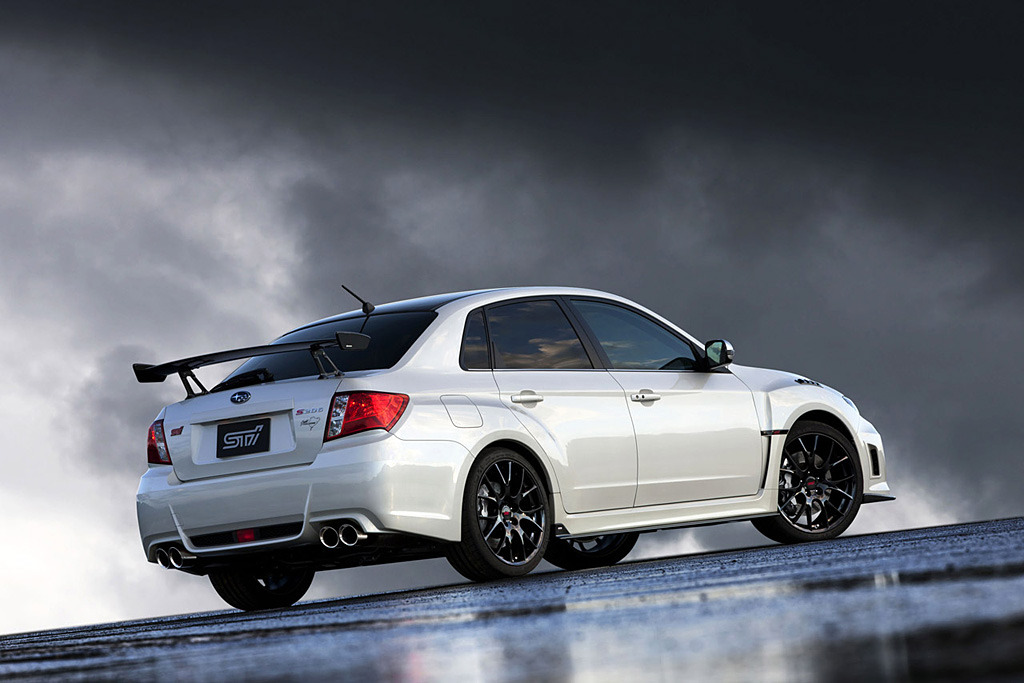 The Subaru Impreza WRX STI S206 NBR Package Edition  The car has been built to commemorate the effort at 24 Hours of Nurburgring. Went on sale today in Japan..and already sold out.