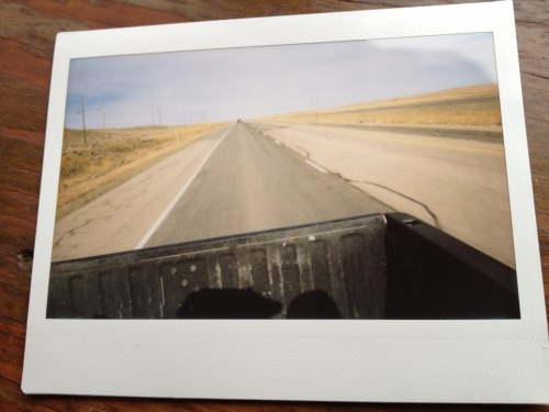 manabagoblog:  On the road in Northern Wyoming.