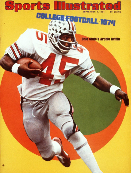 siphotos:  Archie Griffin has to be smiling today after Ohio State hired Urban Meyer as its new head football coach. Griffin, who rushed for 100 yards in an NCAA-record 31 straight games, played in four Rose Bowls as a member of the Buckeyes. After a tumultuous year, Ohio State fans are hoping Meyer can bring the good times back to Columbus. (Neil Leifer/SI) STAPLES: What has and hasn't changed since Meyer left FloridaMANDEL: Meyer's main issue at Ohio State will be himselfVIDEO: From Ashtabula to Columbus: Urban Meyer's roadVIDEO: Meyer and Ohio State are a perfect fit