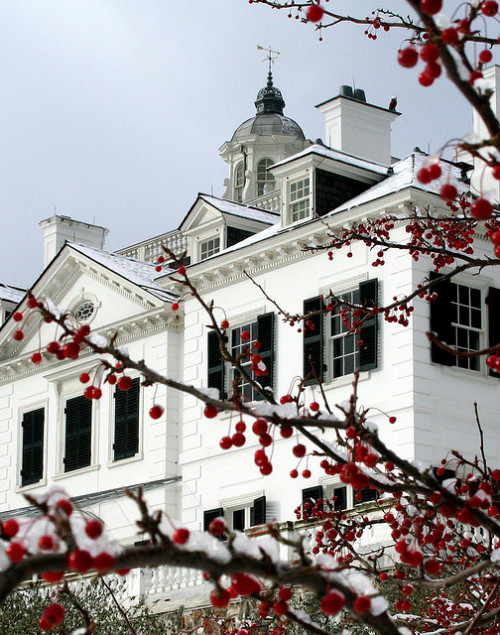 "Edith Wharton's country estate ""The Mount"" Lenox, MA"