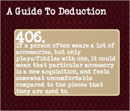 aguidetodeduction:  Suggested Anonymously
