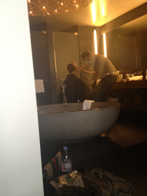 Shooting Cosmo at that Thompson hotel