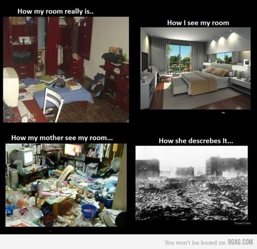 Definitely when I lived with my parents.