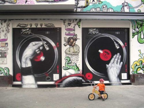 Th e best Graffitti concept Ive ever seen. Hands down!