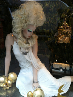 Liberty's of London Christmas Window 2011