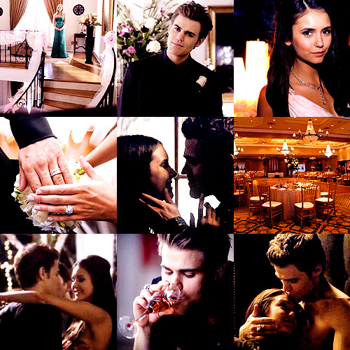 AU Meme       ↳ Stelena Wedding (Contest Entry)