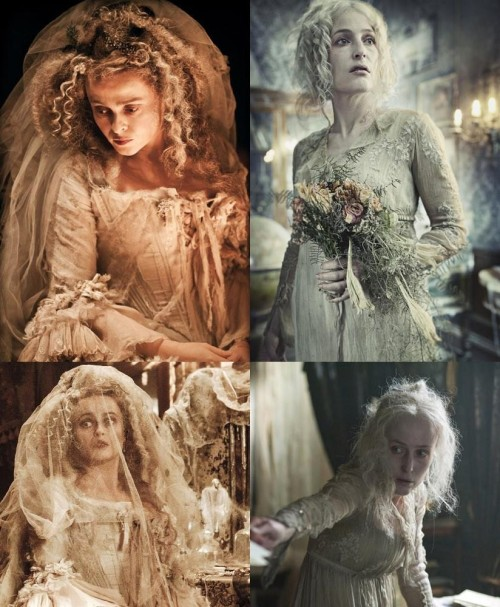 Two amazing actresses will be playing Great Expectation's Miss Havisham soon. Which one do you think will portray the role better?   errolivio:  Helena Bonham-Carter Havisham in Great Expectations the 2012 movie, Gillian Anderson Havisham in Great Expectation Christmas 2011 BBC TV version. BOTH ARE GONNA BE AMAZING!!
