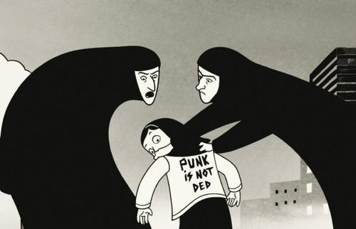 From Persepolis: The Story of a Childhood by Marjane Satrapi