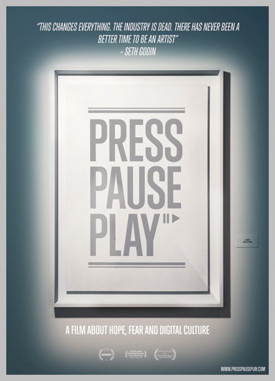 "PRESSPAUSEPLAY  ""…a documentary film containing interviews with some of the world's most influential creators of the digital era"""