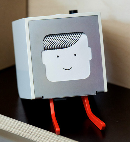 Possibly useless? Totally adorable. Little Printer, you're on my wish list for 2012. -Patrick