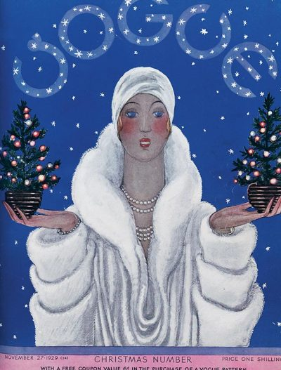 Vogue Christmas Issue c.1929