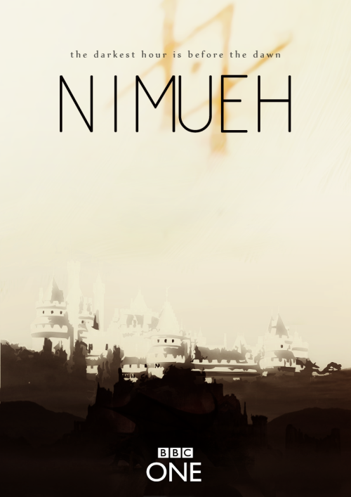 "theladylefay:  scissorsandglitter:   fake tv-show: Nimueh (the series) Season 1.  It's time for a new dawn. A new king arises in the land of Camelot and it-s welcomed with hope and desperation. Nimueh, a young witch, a high skilled priestess of the old the religion, sets her destination on Camelot hoping to help on the future Uther Pendragon promises. Loyalties must be formed, rules will be settled, love will arise, friendships will be born, as the pair, helped by the King's soon to be Queen, and the inclusion of a very servile and clever physician, start to settle the world back on tracks. In a time where magic is allowed but deeply judged, will they be able to put differences apart and survive past experiences, lies and secrets and complete the mission they have taken upon themselves? (this is the season where everything begins. Alliances are formed. Wreckage on the kingdom is controlled. Uther's authority is settled. Igraine becomes Queen. Nimueh struggles with her differences and her affection for the royalty and her position as a High Priestess. This is the season were everything seems hopeful and happy endings seem to be the only thing ahead, while still walking on a fine line of problems and distrust).  1X01. Camelot's Call. (pilot) … 1X13 Queen of hearts. (season finale). Season 2. With an strict King and a warm Queen, everything seems to be settled on Camelot, but new pressures will test everything they so hardly built. Time passes and a heir is in need, the news of barren Queen Igraine will travel faster than wanted.  Uther's authority and ability to keep his reign in control will be put in doubt. Nimueh's position as High Priestess will arise questions and doubts from both sides. Magic will grow and take a more important part in their lives, loyalties will be judged, decisions will be made, as the series go darker following depression, desperation and distrust in a path that has no way back. Nothing will ever be the same. (this is the season were limits between bad/good magic are questioned. The season of ""how far will you go?"". The season were Uther argues with everyone, and everyone argues with everyone. It's the season where the Priestess aren't fooled by what little truth Nimueh tells them. Chaos starts growing under the apparent control it had been hidden. Igraine and Uther grow apart, Gorlois takes a more important role in the Kingdom, Uther and Vivian confide in each other. Nimueh and uther finally make the pact that will bring their own destruction: the day Arthur's born).  2X01. The beginning of the end. (season premier) … 2X13 The coming of Arthur (season finale). Season 3.  Cast outside Camelot, Nimueh settles upon herself to stop Uther, who blinded by love and self-loath after the death of Igraine rushes himself on the hunt of magic people, starting terror every where he stands. As both side struggle with their own thoughts and regrets, Camelot suffers. Each episode gets darker and darker as people are badly judged, or not judged at all. Witchfinders arise, and the Kingdom starts to die. Normal people, still weary of magic get behinds door and hope to not get noticed as these two all friends try to kill each other by damaging everybody else but themselves. This is the dusk of Camelot as they knew it, this is the death of everything they promised. As everything dies in the dust, and only a few try to fight for what it's right, will hope survive? (this is the season of the great purge. This is the fight between Uther and Nimueh and everyone stuck in between. This is the end of the dragons, of magic, of the old religion. Tristan, Vivian, and many other die. Gaius becomes a nameless hero. This is the season that settles the future of Camelot as we know it.) 3X01 The tears of Uther Pendragon (season premier) … 3X13 The last dragonlord (series finale).  For my bb frozenyogurt. HAPPY BIRTHDAY MY DARLING. thank you for everything, I hope you have a great great great day ♥ Preseries for my co-producer as it should be.(also, can we have this dear? can we? tro!). TE ADORO VIDA ♥  *dead*"